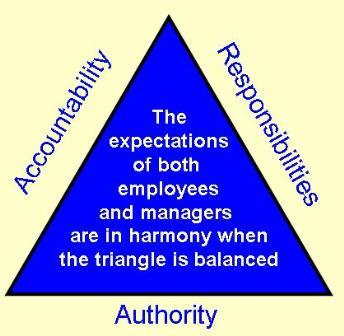 authority accountability responsibility Only when a triumvirate of responsibility, accountability, and authority exists can  an environment that supports reduced medication errors.