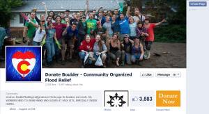 Boulder Flood Facebook Page 1