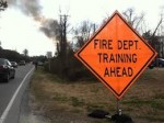 Fire Department Training Ahead